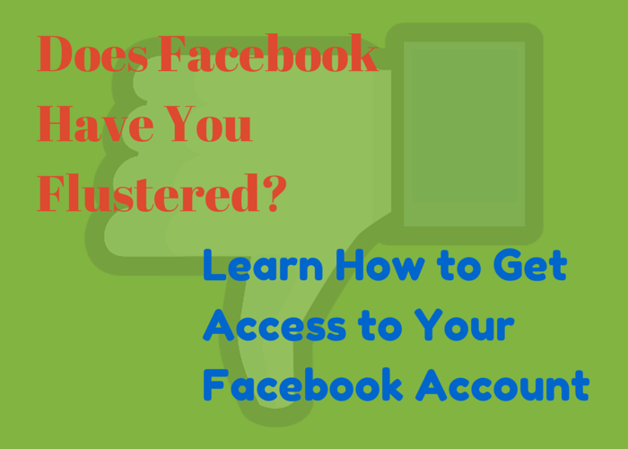 Access Your Facebook Account