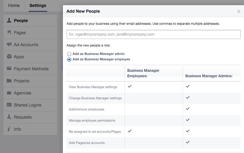 Add as Facebook Business Manager employee - Drakon Digital