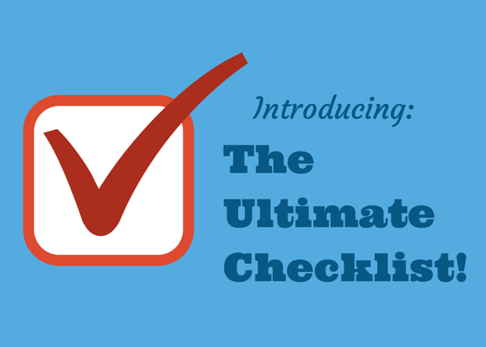 Introducing Ultimate Checklist