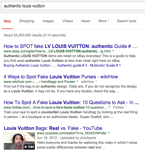 authentic louis vuitton search