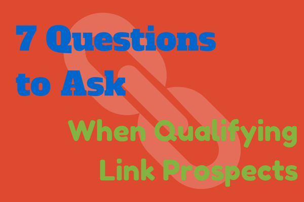 Qualifying Link Prospects