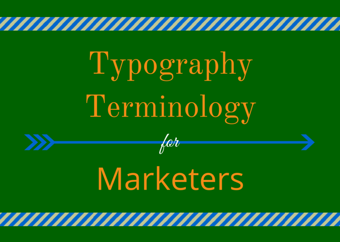 typography terminology for marketers