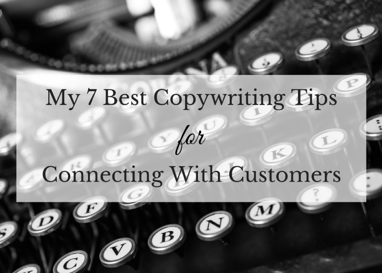 best copywriting tips for connecting with customers
